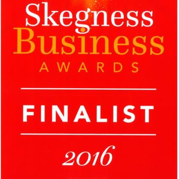 Shoreline Finalist at the Skegness Business Awards