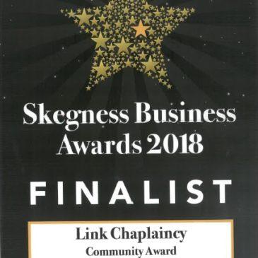 Link Chaplaincy 2018 Skegness Business Awards