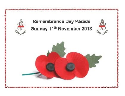 Skegness Remembrance Day Parade