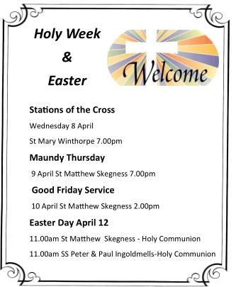 Holyweek & Easter